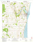 Download a high-resolution, GPS-compatible USGS topo map for Kewaunee, WI (1979 edition)