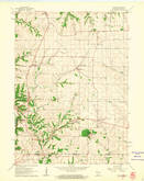 Download a high-resolution, GPS-compatible USGS topo map for Kieler, WI (1962 edition)