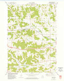 Download a high-resolution, GPS-compatible USGS topo map for Knapp, WI (1977 edition)