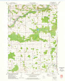 Download a high-resolution, GPS-compatible USGS topo map for Krakow, WI (1977 edition)