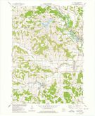 Download a high-resolution, GPS-compatible USGS topo map for La Valle, WI (1978 edition)
