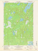 Download a high-resolution, GPS-compatible USGS topo map for Lac Du Flambeau SW, WI (1979 edition)