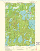 Download a high-resolution, GPS-compatible USGS topo map for Lac Du Flambeau, WI (1973 edition)