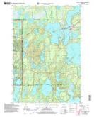 Download a high-resolution, GPS-compatible USGS topo map for Lac Du Flambeau, WI (2006 edition)