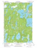 Download a high-resolution, GPS-compatible USGS topo map for Lac Du Flambeau, WI (1977 edition)
