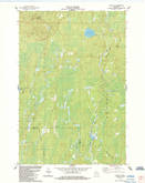 Download a high-resolution, GPS-compatible USGS topo map for Lake Six, WI (1984 edition)