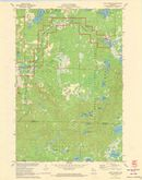 Download a high-resolution, GPS-compatible USGS topo map for Lake Tahkodah, WI (1973 edition)