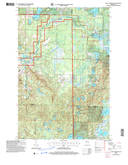 Download a high-resolution, GPS-compatible USGS topo map for Lake Tahkodah, WI (2006 edition)