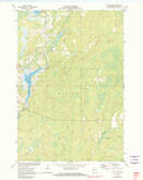 Download a high-resolution, GPS-compatible USGS topo map for Lake Winter, WI (1982 edition)