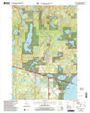 Download a high-resolution, GPS-compatible USGS topo map for Land OLakes, WI (2005 edition)