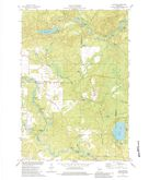 Download a high-resolution, GPS-compatible USGS topo map for Langlade, WI (1984 edition)