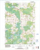 Download a high-resolution, GPS-compatible USGS topo map for Leeman, WI (1996 edition)