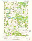 Download a high-resolution, GPS-compatible USGS topo map for Lewiston, WI (1978 edition)