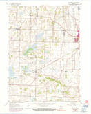 Download a high-resolution, GPS-compatible USGS topo map for Lima Center, WI (1990 edition)