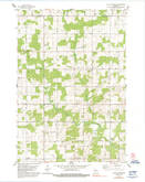 Download a high-resolution, GPS-compatible USGS topo map for Little Chicago, WI (1992 edition)