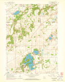 Download a high-resolution, GPS-compatible USGS topo map for Little Prairie, WI (1972 edition)