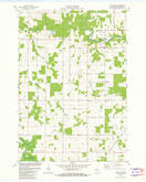 Download a high-resolution, GPS-compatible USGS topo map for Little Rose, WI (1982 edition)