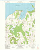 Download a high-resolution, GPS-compatible USGS topo map for Little Sturgeon, WI (1983 edition)