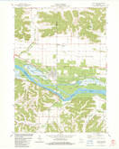 Download a high-resolution, GPS-compatible USGS topo map for Lone Rock, WI (1983 edition)