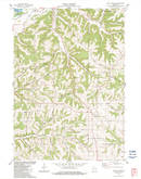 Download a high-resolution, GPS-compatible USGS topo map for Long Hollow, WI (1983 edition)