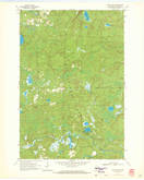 Download a high-resolution, GPS-compatible USGS topo map for Long Lake SE, WI (1972 edition)