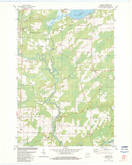 Download a high-resolution, GPS-compatible USGS topo map for Loomis, WI (1983 edition)