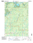 Download a high-resolution, GPS-compatible USGS topo map for Loretta, WI (2006 edition)