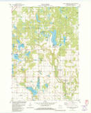 Download a high-resolution, GPS-compatible USGS topo map for Lower Vermillion Lake, WI (1982 edition)