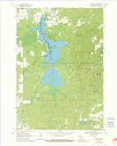 Download a high-resolution, GPS-compatible USGS topo map for Lublin NW, WI (1990 edition)