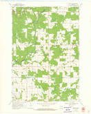 Download a high-resolution, GPS-compatible USGS topo map for Lublin SE, WI (1971 edition)