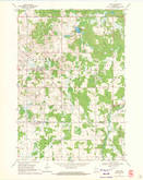 Download a high-resolution, GPS-compatible USGS topo map for Lublin, WI (1971 edition)
