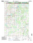 Download a high-resolution, GPS-compatible USGS topo map for Lublin, WI (2006 edition)