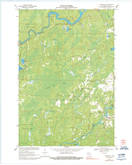 Download a high-resolution, GPS-compatible USGS topo map for Lugerville, WI (1992 edition)