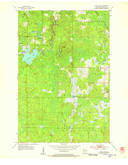 Download a high-resolution, GPS-compatible USGS topo map for Lyman Lake, WI (1955 edition)