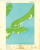 Download a high-resolution, GPS-compatible USGS topo map for Madeline Island, WI (1965 edition)