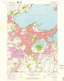 Download a high-resolution, GPS-compatible USGS topo map for Madison West, WI (1979 edition)