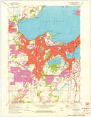 Download a high-resolution, GPS-compatible USGS topo map for Madison West, WI (1975 edition)