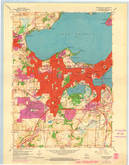 Download a high-resolution, GPS-compatible USGS topo map for Madison West, WI (1970 edition)