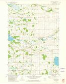 Download a high-resolution, GPS-compatible USGS topo map for Manchester, WI (1981 edition)