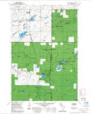 Download a high-resolution, GPS-compatible USGS topo map for Marengo SW, WI (1985 edition)