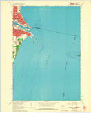 Download a high-resolution, GPS-compatible USGS topo map for Marinette East, WI (1964 edition)