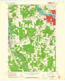 Download a high-resolution, GPS-compatible USGS topo map for Marinette West, WI (1964 edition)