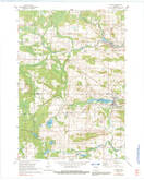 Download a high-resolution, GPS-compatible USGS topo map for Marion, WI (1991 edition)
