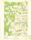 Download a high-resolution, GPS-compatible USGS topo map for Marion, WI (1973 edition)