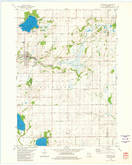 Download a high-resolution, GPS-compatible USGS topo map for Markesan, WI (1981 edition)