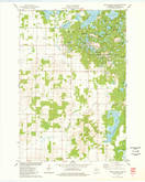 Download a high-resolution, GPS-compatible USGS topo map for Marsh-Miller Lake, WI (1978 edition)
