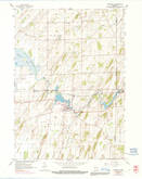 Download a high-resolution, GPS-compatible USGS topo map for Marshall, WI (1991 edition)