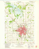 Download a high-resolution, GPS-compatible USGS topo map for Marshfield, WI (1980 edition)