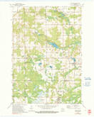 Download a high-resolution, GPS-compatible USGS topo map for Mattoon, WI (1991 edition)