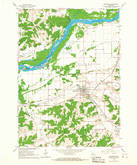 Download a high-resolution, GPS-compatible USGS topo map for Mazomanie, WI (1967 edition)